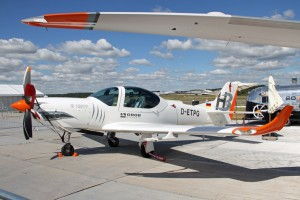 Grob 120TP - turboprop two seater for military / civil training