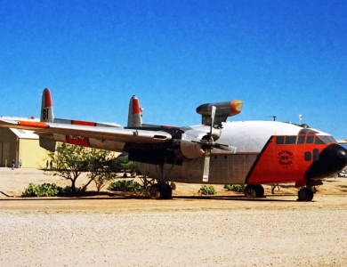 Firebomber conversion of Fairchild C-119J