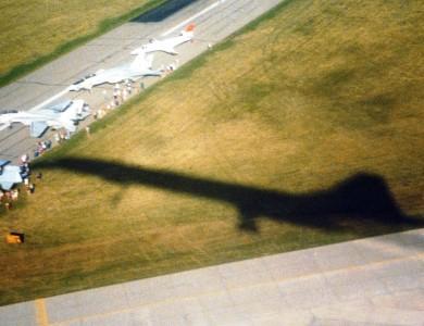 Concorde arrival at Oshkosh