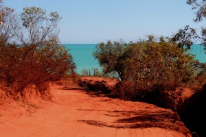 Red dirt, Roebuck Bay