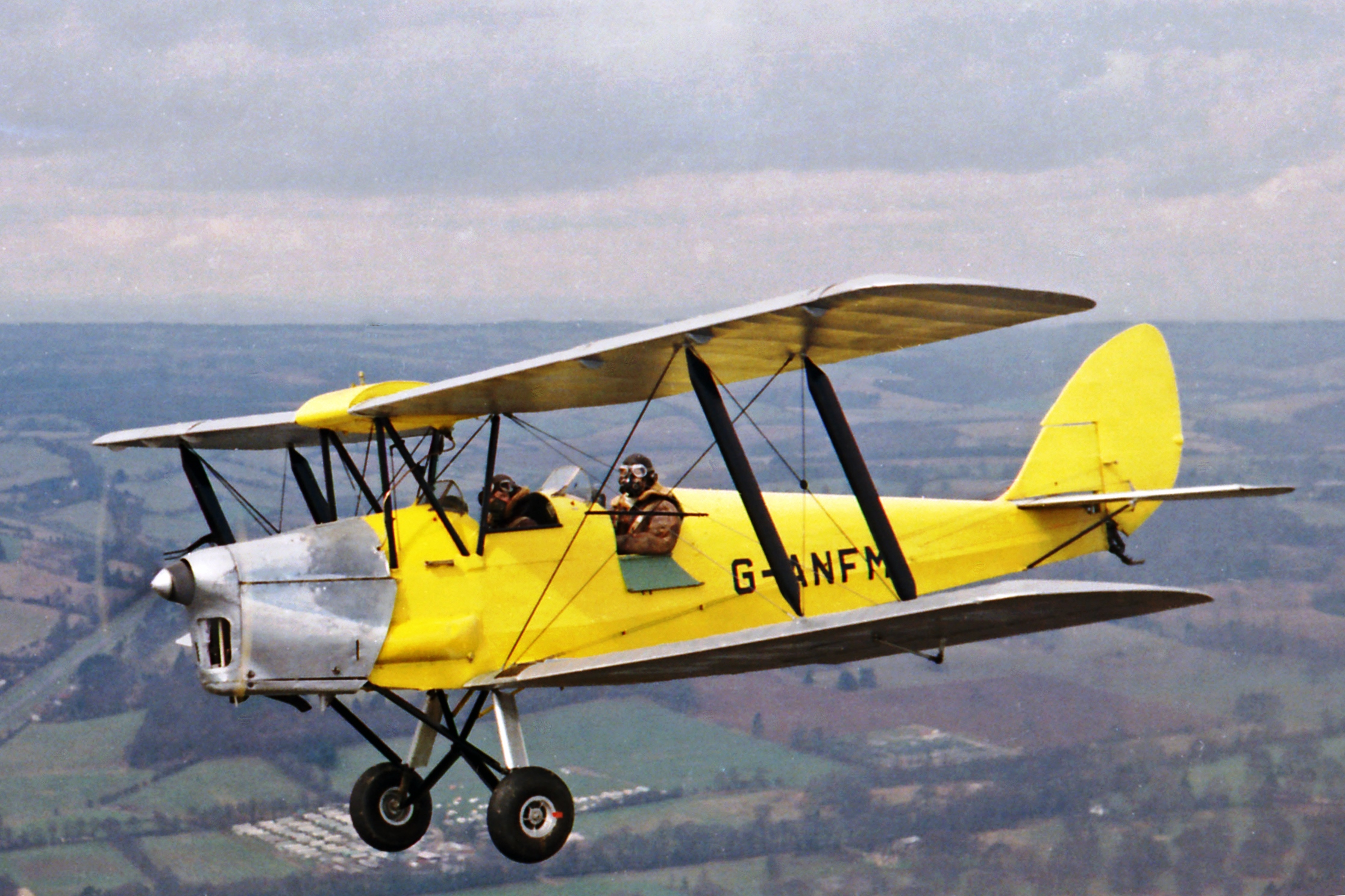 The Story behind the Photograph (1) Tiger Moth G-ANFM