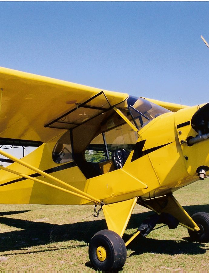 Flying the Piper Cub in Florida
